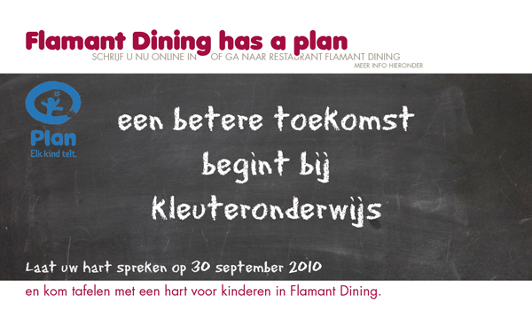 planbelgie header Flamant Dining Antwerpen has a Plan