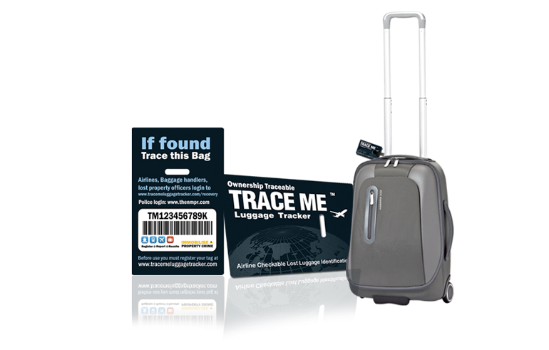 traceme Win met Trendy Hotels 1 van de 10 Trace Me Luggagetrackers